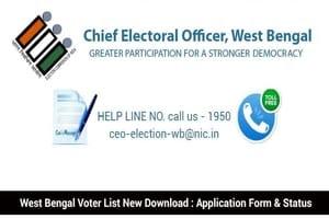 CEO West Bengal Voter List 2021