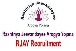 RJAY Recruitment 2020 Apply Online
