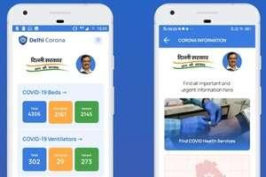Delhi Corona Mobile App Download Link