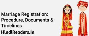 Marriage Certificate Registration Vivah Praman Patra Panjikaran Online
