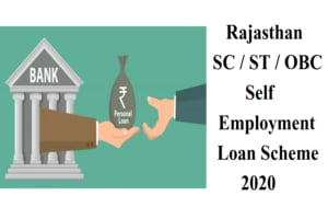 Rajasthan SC ST OBC Self-Employment Loan Scheme