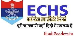 echs 64 kb card status online in hindi
