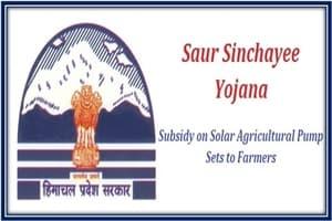Apply Online for HP Saur Sinchai Yojana