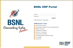 SAP ESS Portal BSNL Salary Slip Payslip