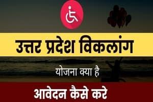 UP Viklang Pension Yojana Form Download