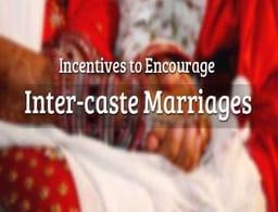 Inter Caste Marriage Scheme Rajasthan