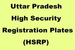 UP HSRP Number Plat Registration Online